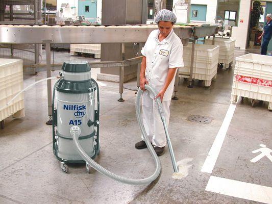 Aspiradoras Industriales Que Mantienen Un Alto Nivel De Higiene