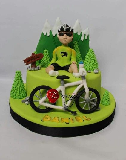 foto de Torta Ciclista | Bike cakes, Bicycle cake, Mountain bike cake