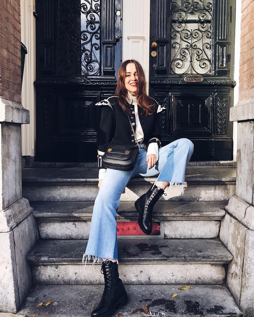 The Street Style Approved Way To Wear Cropped Flare Pants Rn Cropped Flare Pants Flare Pants Cropped Flares