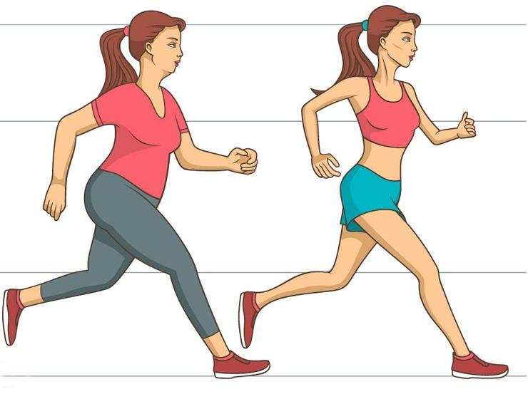 Welche Übungen müssen Sie machen, um Gewicht zu verlieren?