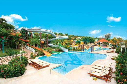 Beaches Ocho Rios Resort Golf Club Jamaica Following An