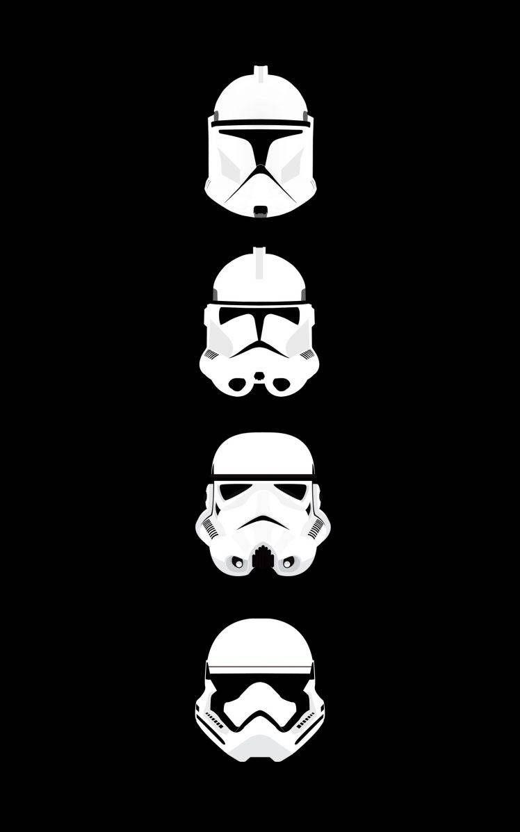 Star Wars Clone Trooper Stormtrooper Helmet Minimalism Portrait Display Hd Wallpaper Star Wars Wallpaper Iphone Star Wars Background Star Wars Clone Wars