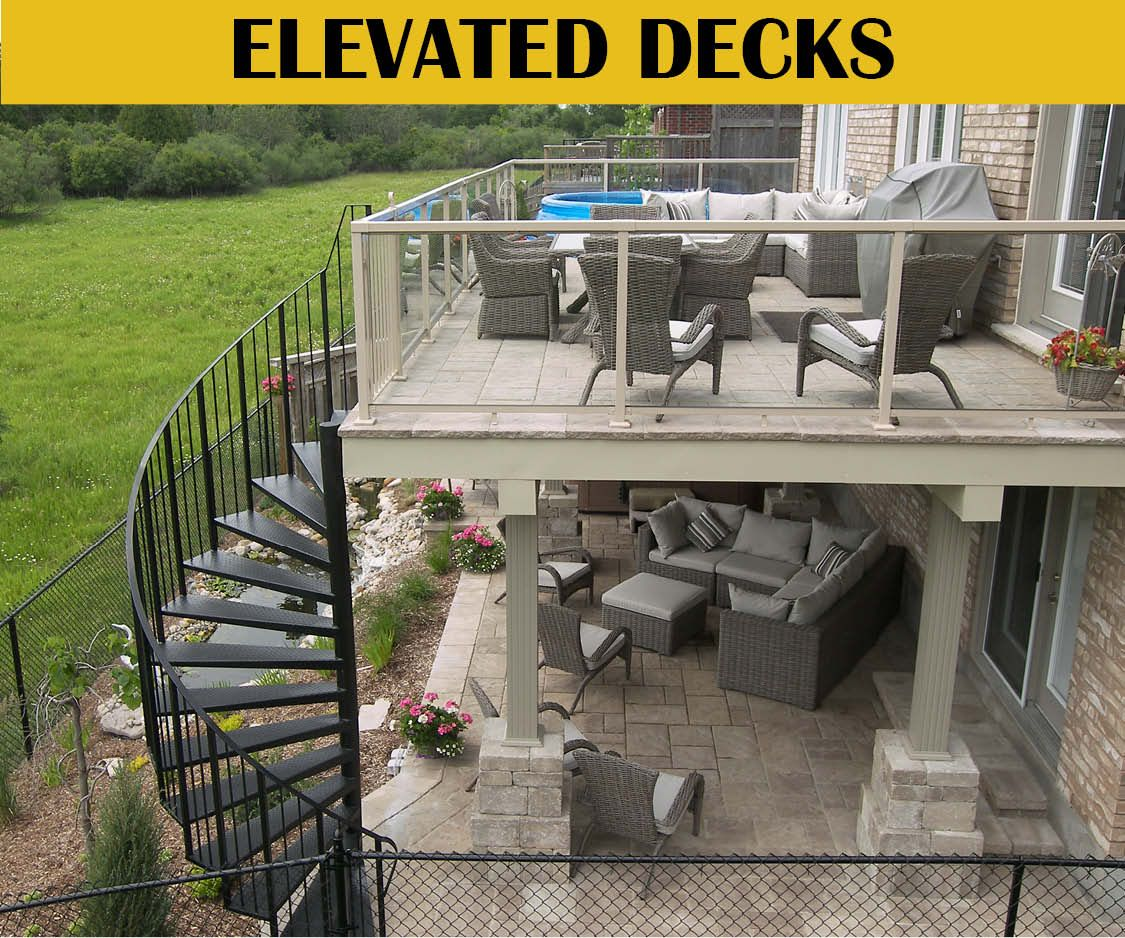 walkout basement deck and patio ideas - Google Search ...