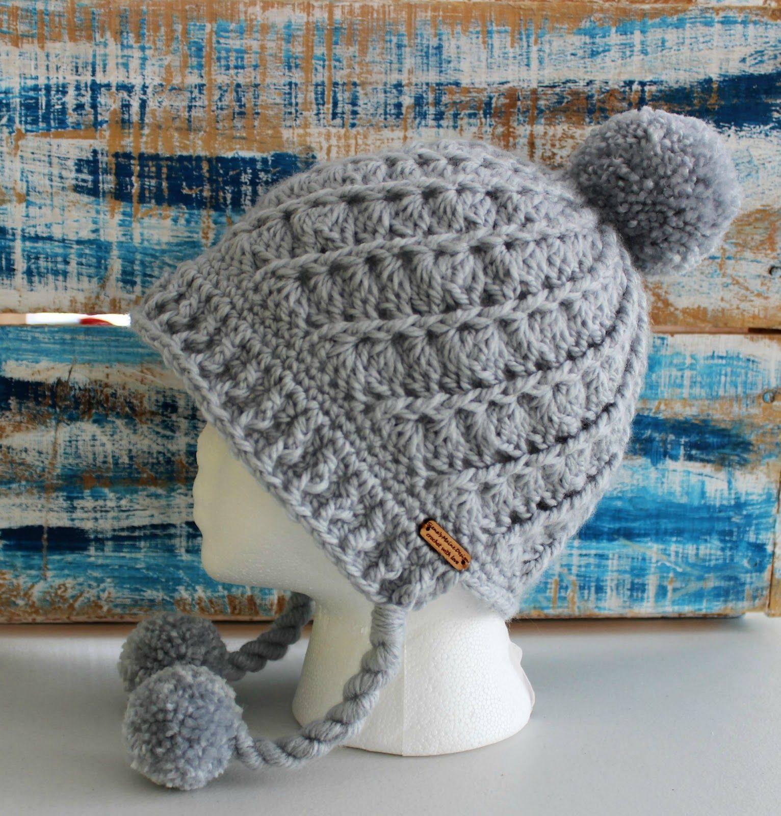Easy Pom Pom Brim Hat – Jonna Martinez | crochet-clothing | Pinterest