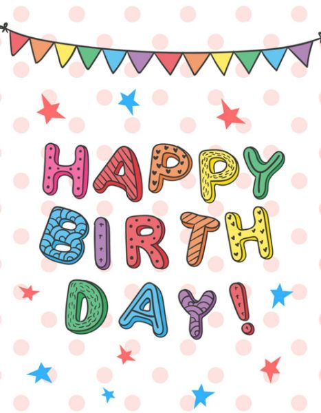 15 Birthday Cards To Pin And Share Templates Printable Pinterest