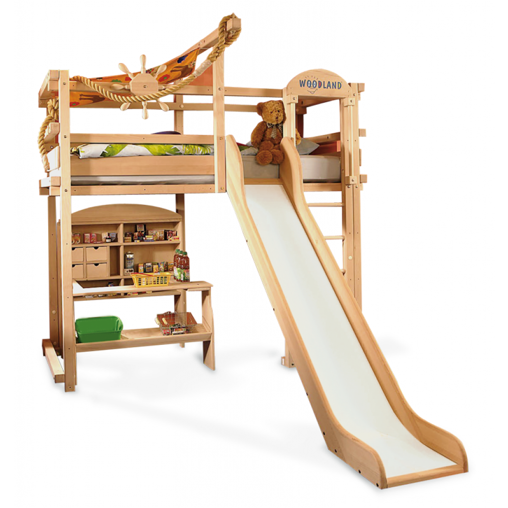 Woodland Hochbett Extraordinary Woodland Kids Loft And Bunk Beds : Awesome