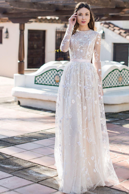 Robe De Mariée Bohème Oksana Mukha Paris Wedding Dress