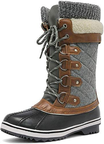Buy DREAM PAIRS Women's Mid-Calf Winter Snow Boots online - Looknewclothing
