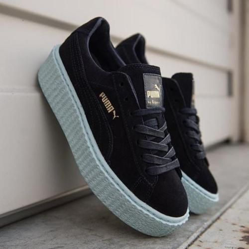wholesale dealer 7feee 6657a PUMA-Fenty-by-Rihanna-Creepers-Peacoat-Navy-Blue-Suede-7-5 ...