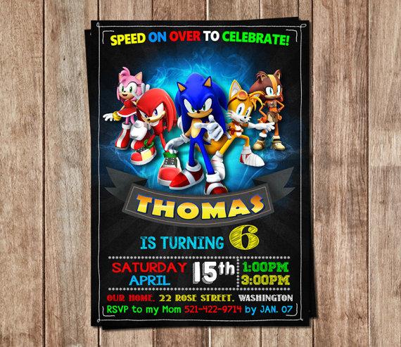 Sonic invitation sonic birthday sonic personalized sonic birthday sonic invitation sonic birthday sonic personalized sonic birthday invitation sonic printable filmwisefo