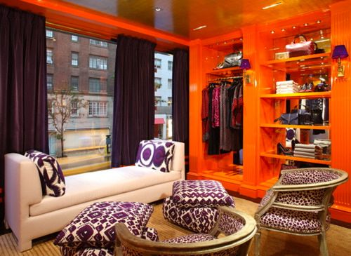 Great apartment idea..  bright but i like it!
