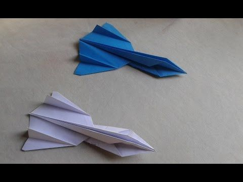2 How To Make The Sr 71 Blackbird Jet Fighter Paper Airplane