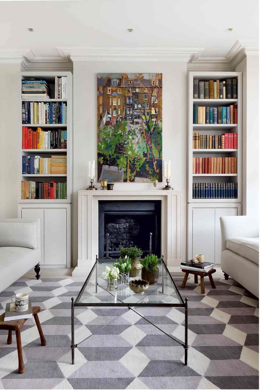 Modern family living room at home a modern victorian family home  modern victorian alcove