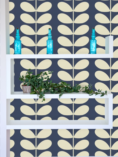Orla Kiely Giant Stem Wallpaper - 110393