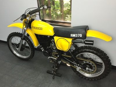 1976 Suzuki RM370 - East Coast Vintage MX | Dirt bikes | Pinterest