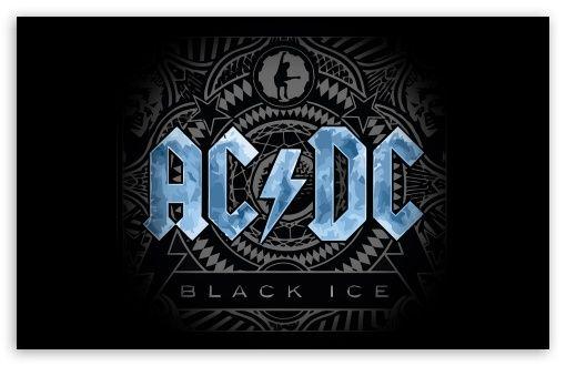 Download Ac Dc Black Ice Concept Art Hd Wallpaper 4k Uhd 8k