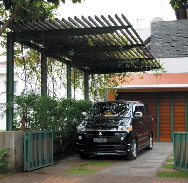 Inspiring Pergola Garage 6 Architectural Design Carport: IdeMembuat Carport Terlihat Cantik