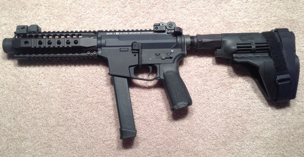 9mm AR15 with Glock Mag Lower Receiver