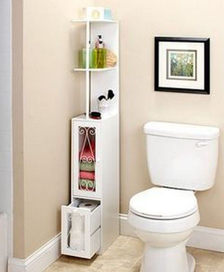 43 Brilliant Space Saving Solutions And Storage Ideas Page 14 Of 45 Space Saving Bathroom Diy Bathroom Storage Stylish Bathroom