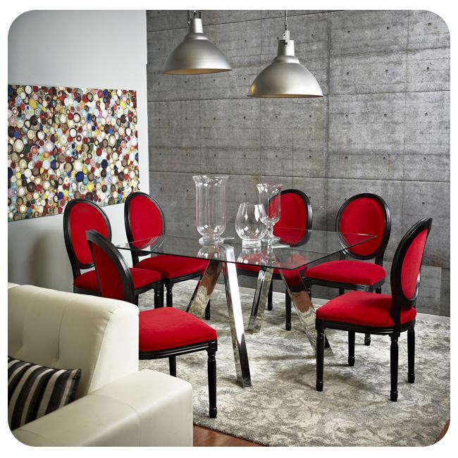 Especial #silla #chair #red #rojo #black #negro #classic #clásico ...