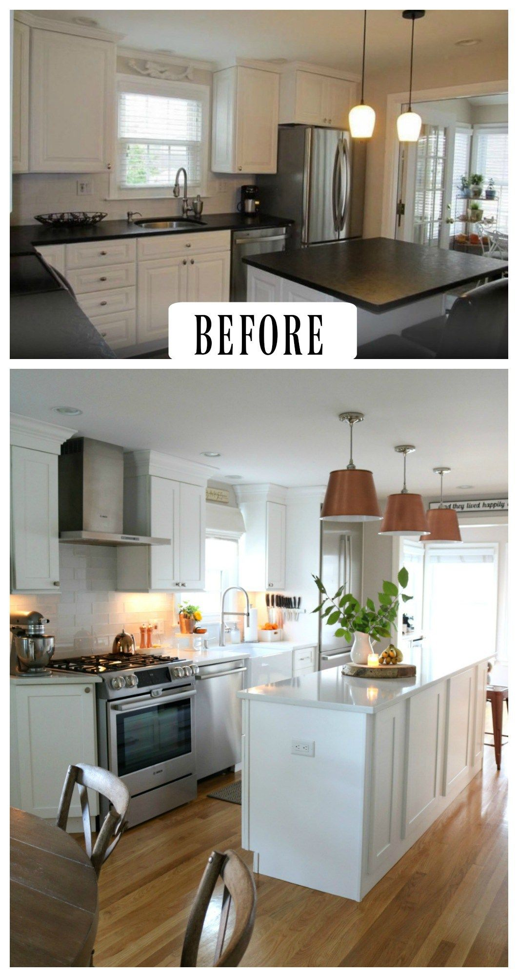 27 inspiring kitchen makeovers before and after kitchen makeover kitchen inspirations home on kitchen makeover ideas id=14667