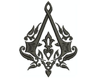 Machine Embroidery Design Instant Download Assassin S Creed