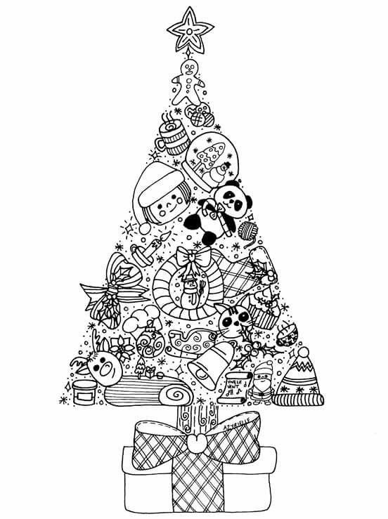 Pin de Dave Baker en Kids Colouring Pages | Pinterest | Navidad ...