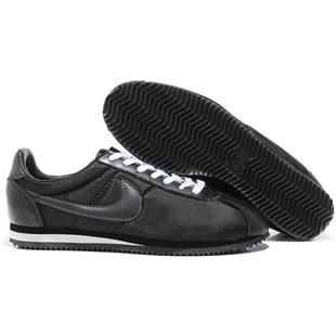 Men Nike Cortez Oxford Cloth Shoes Coal Black