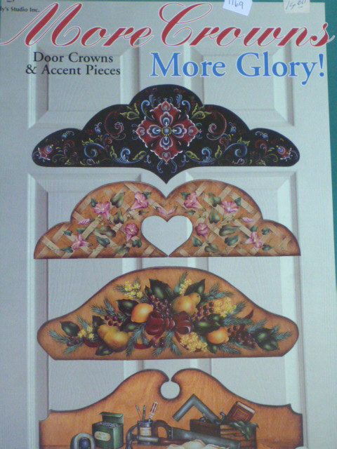 Tole Painting Book Door Crowns and Accent by CarolsCreations77 $4.99 & Tole Painting Book Door Crowns and Accent by CarolsCreations77 ...