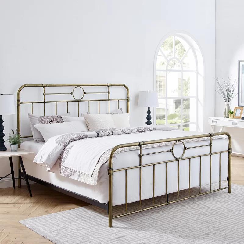 Wilhelmina Standard Bed Bed Bed Frame Simple Bed