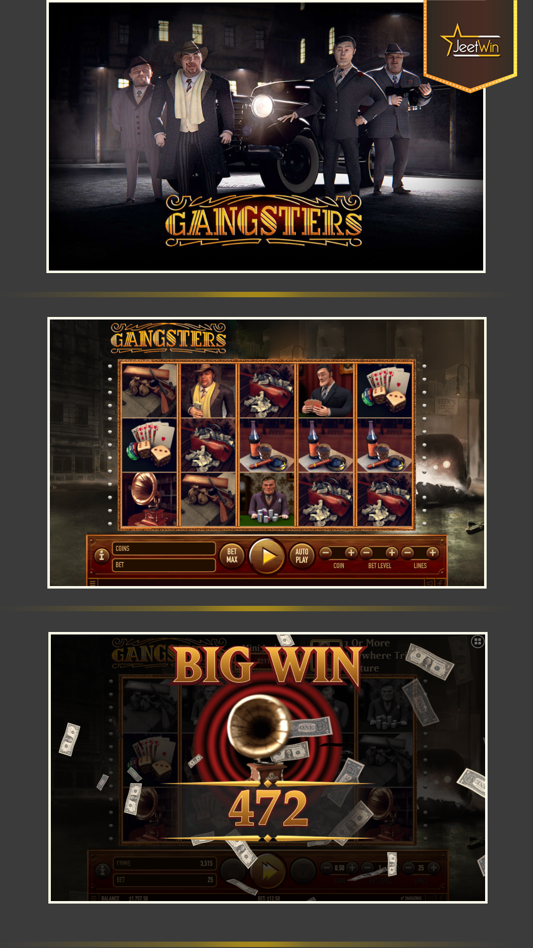 Gangster Slot Game. Play Like a Gangster, Win Like a