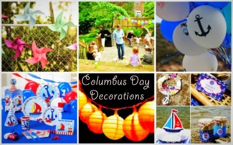Columbus Day Party Decorations Party Decorations Columbus Day Day