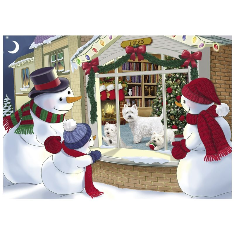 Westie Christmas Cards - The Danbury Mint | ‿♡⁀ᏇᏋᏕᏖᎩ ...