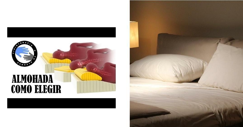 cuál es la mejor almohada o cómo elegir la correcta para evitar