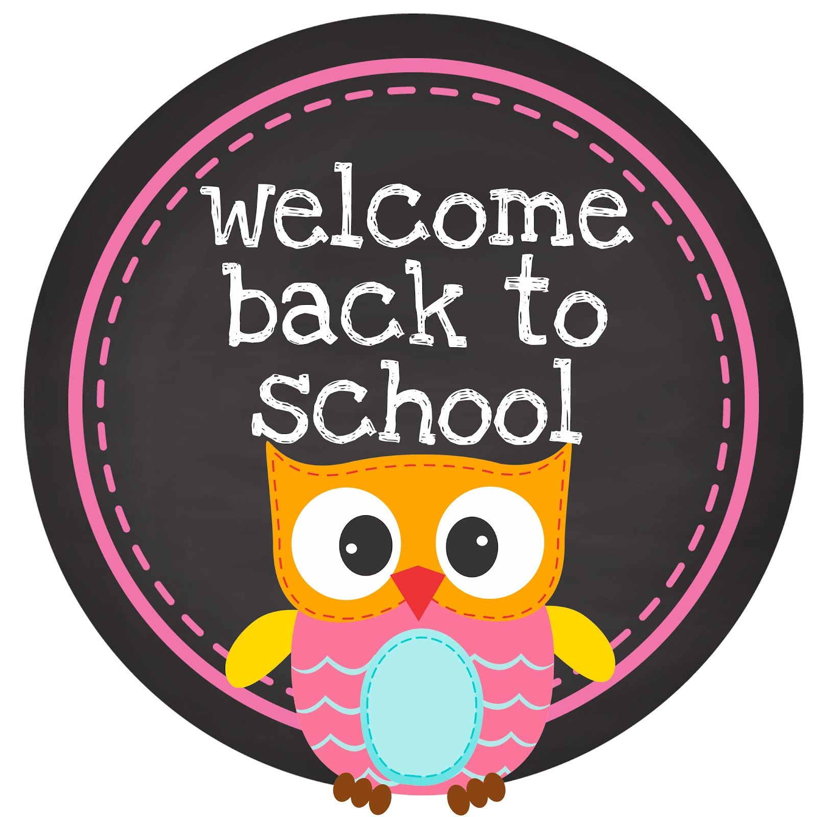 Back To School Owl Clipart