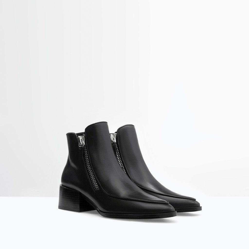 para con Wednesday mujer Zapatos cremallera nAxta
