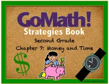 Go Math Grade 2 Chapter 7 Money And Time Reference Book Books