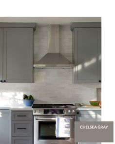 Top 10 Gray Cabinet Paint Colors #graycabinets