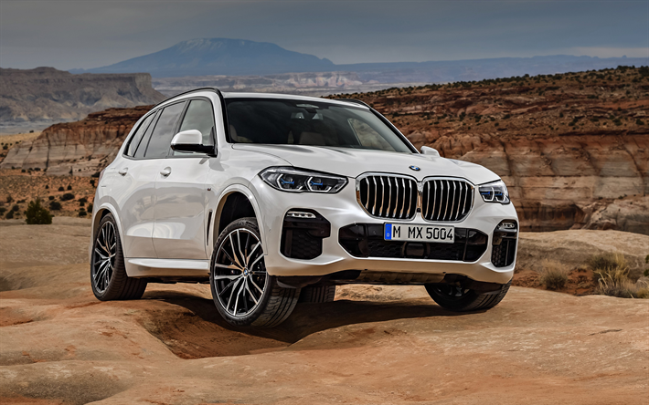Download wallpapers BMW X5, M Sport, 2019, xDrive30d, 4k