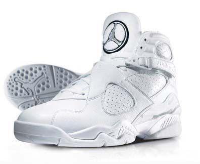 "brand new 83d07 03cc4 Air Jordan 8 ""Silver Anniversary"" - Street Fashion, Casual Style, Latest  Fashion Trends - Street Style and Casual Fashion Trends"