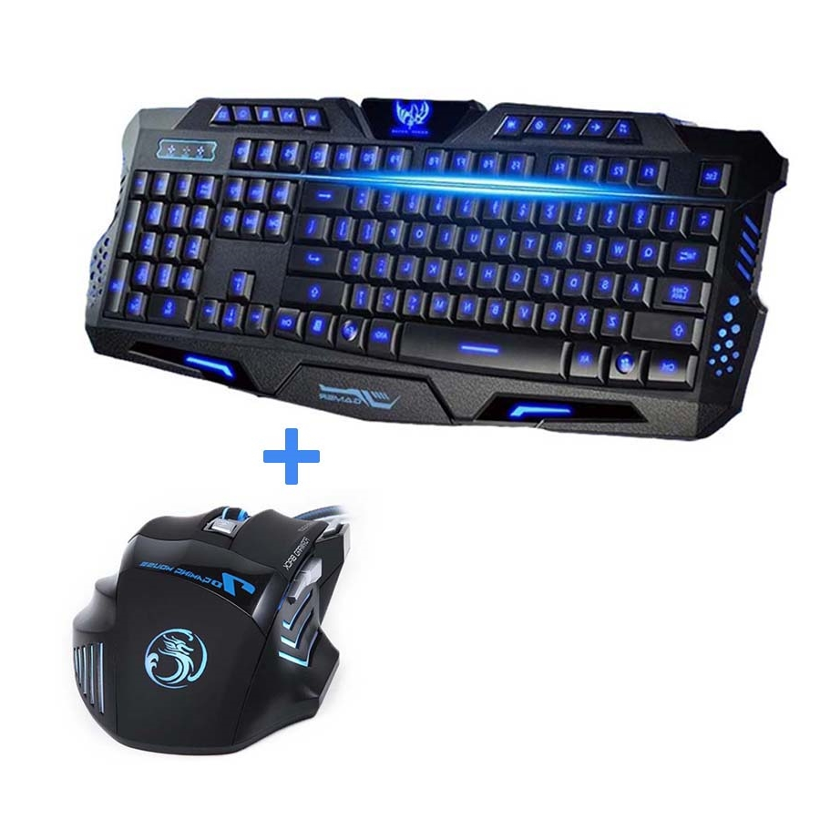 28.96$  Watch now - http://ali97q.worldwells.pw/go.php?t=32649444522 - Newest Tri-color USB Wired LED Backlit Laptop Computer Gamer Keyboard Mouse Combo Optical Professional 7 Buttons 5500 DPI Mice