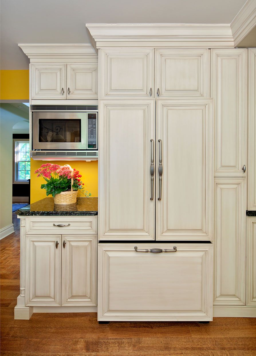 microwave placement, cabinets around refrigerator | Kitchen/Dining ...