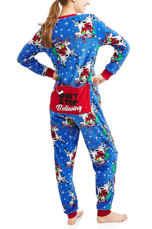 Secret Treasures Christmas Dropseat Sleepwear Fashion