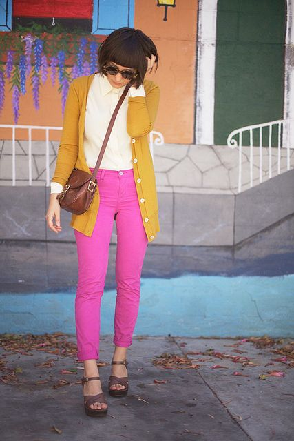 colored jeans obsession.