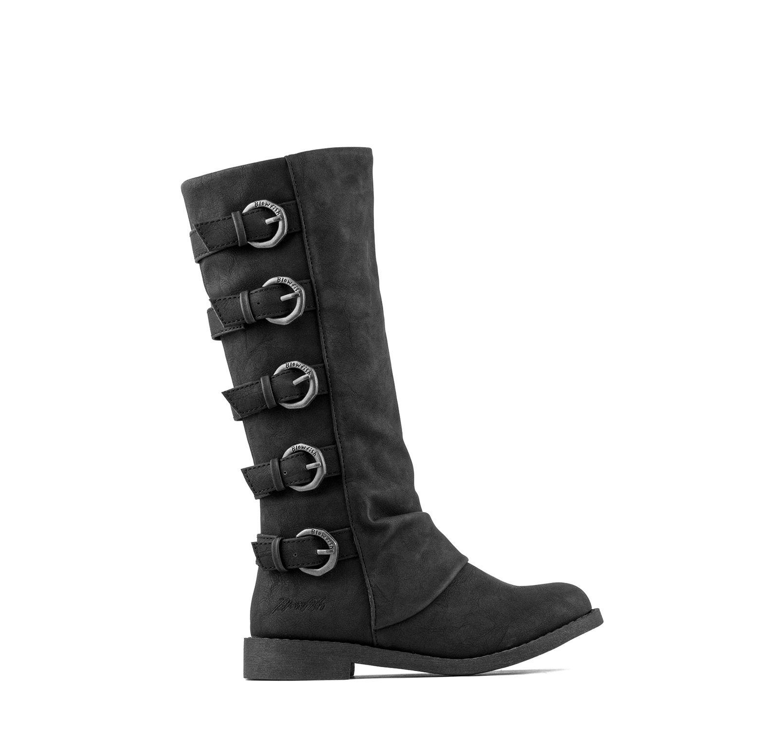 0a498ce0cad Blowfish Takara Tall Boot Girls - Black