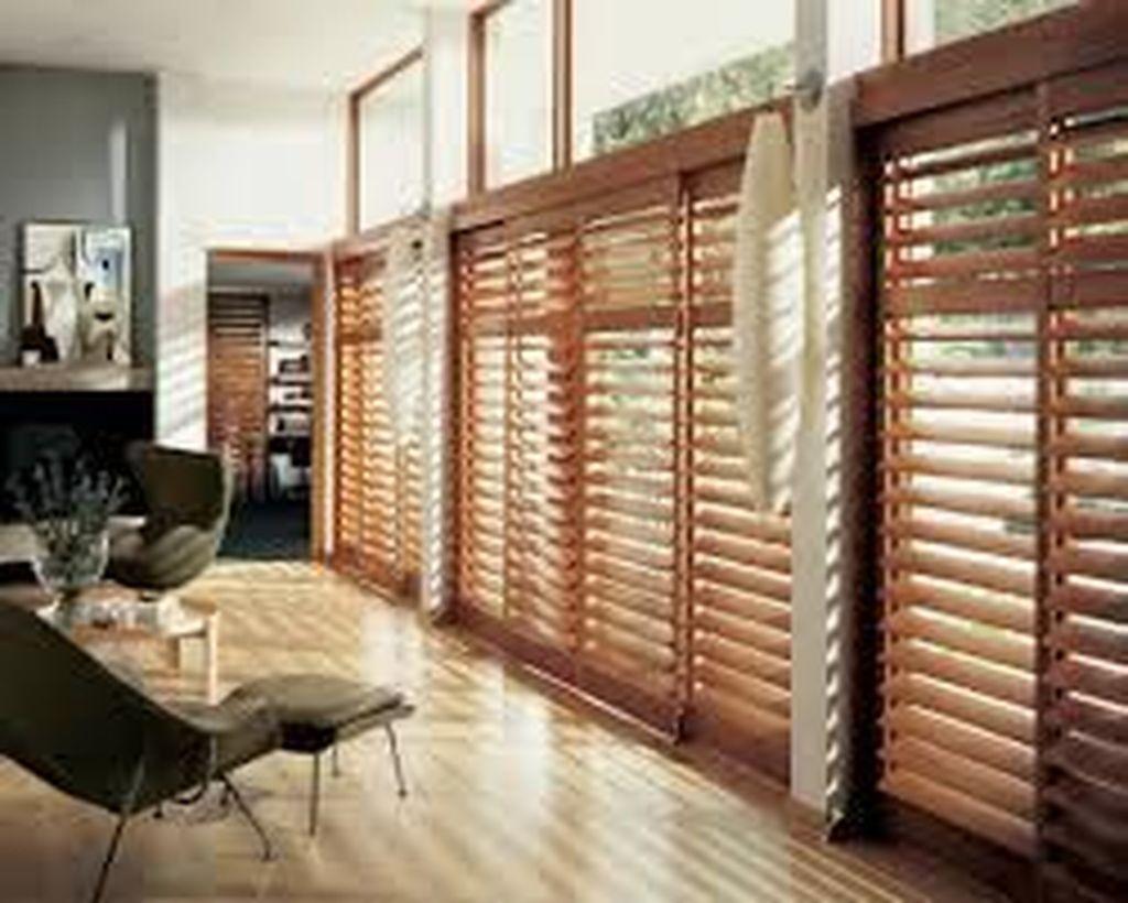 48 Comfy Wooden Tiles Design Ideas For Living Room Wooden Patio Doors Interior Shutters Sliding Glass Door Shutters