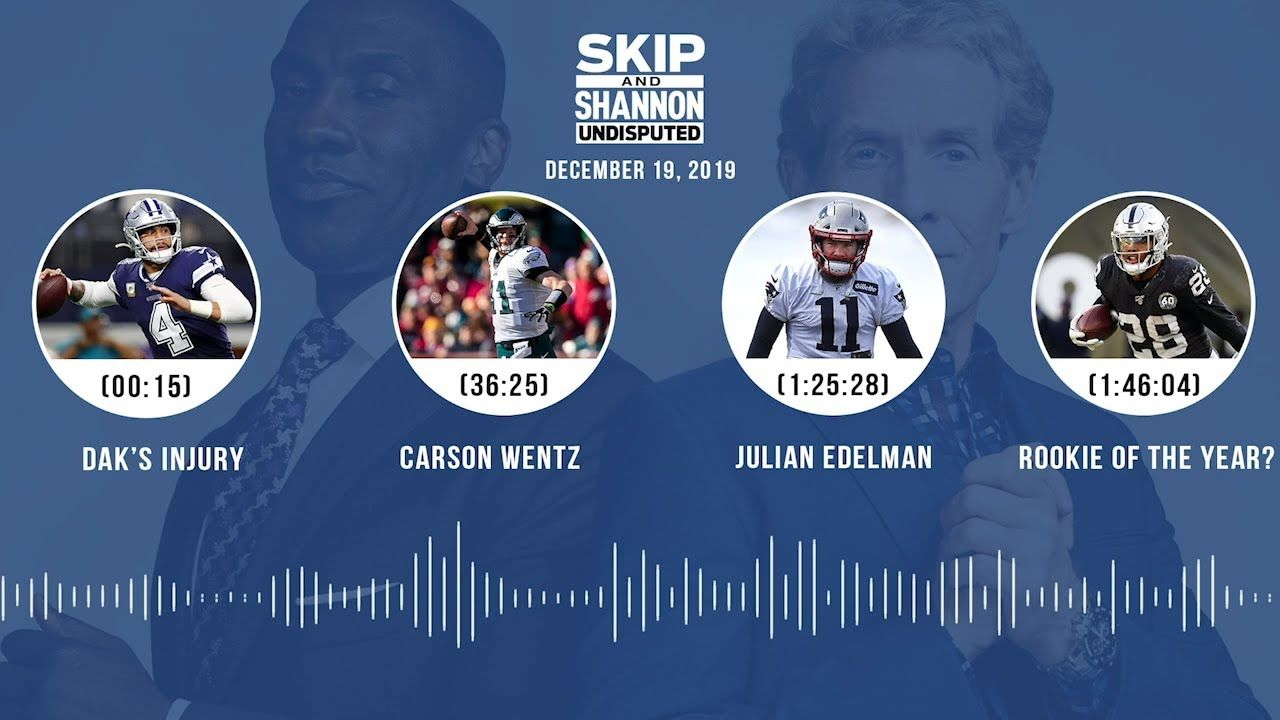 Dak S Injury Carson Wentz Julian Edelman Rookie Of The Year Carson Wentz Julian Edelman Carson