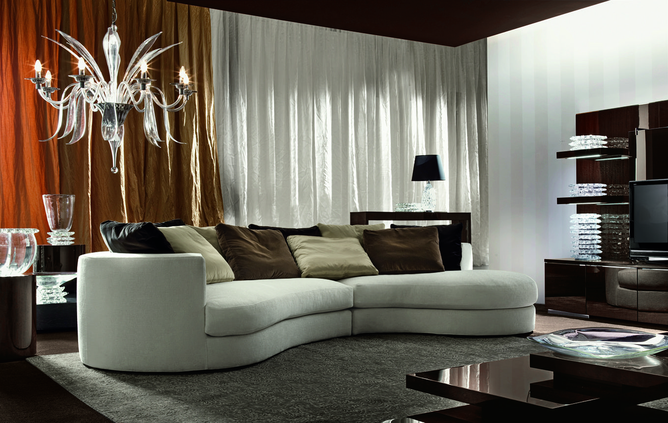 Be Unique And Home All At The Same Time. Giorgio Vogue Sofa Sectional Comes  In Leather Or Rich Velvet. Modern And Contemporary Furniture, Made In Italy.