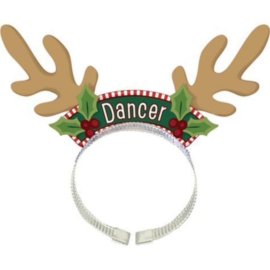 Various Christmas Holiday Headbands Head Boppers Christmas Holiday Headbands Santa And Reindeer Christmas Bazaar Ideas