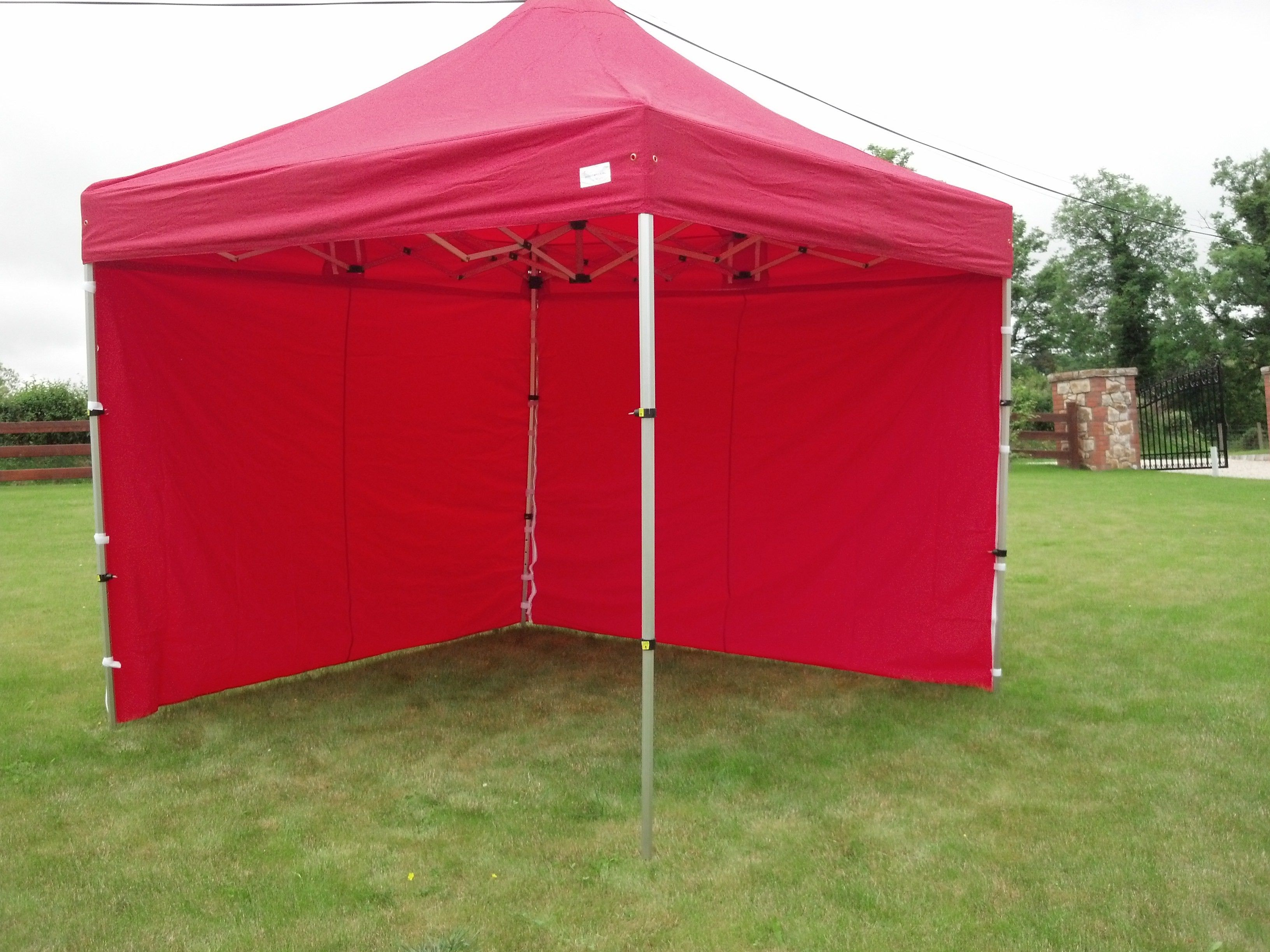 3m X 3m Heavy Duty Pop Up Tents Red Ireland Uk Heavy Duty Gazebo Gazebo Pop Up Tent
